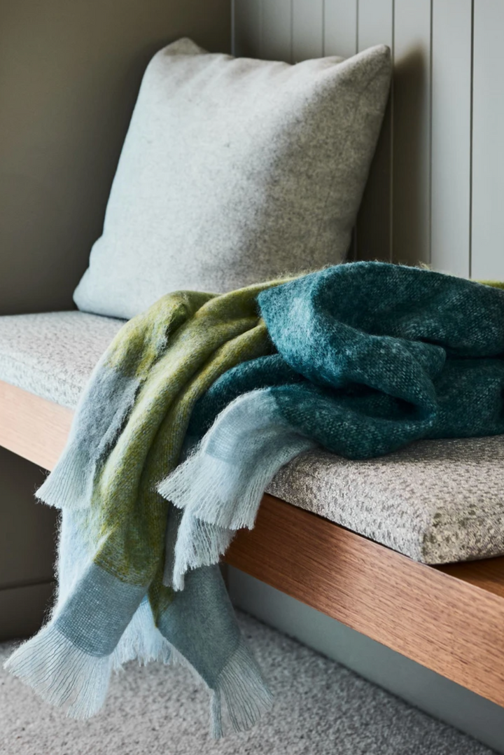 Everglades Mohair Throw
