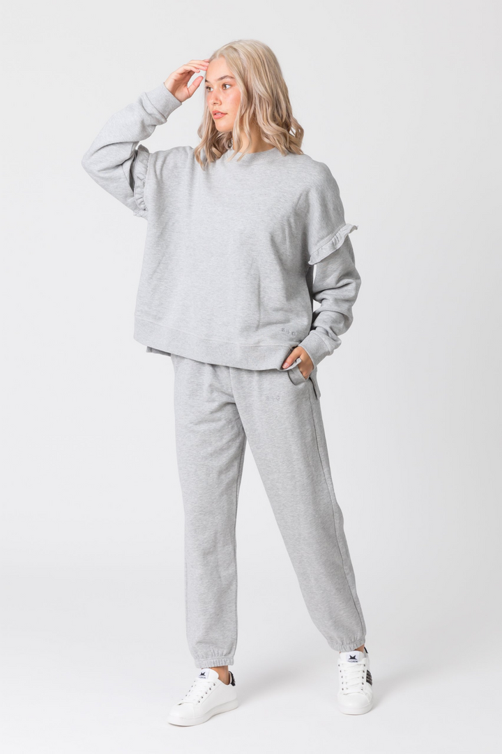 Willow Track Pant - Grey Marle
