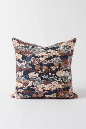 Bloomsbury Cushion - Midnight/Multi - Shop Online At Mookah - mookah.com.au