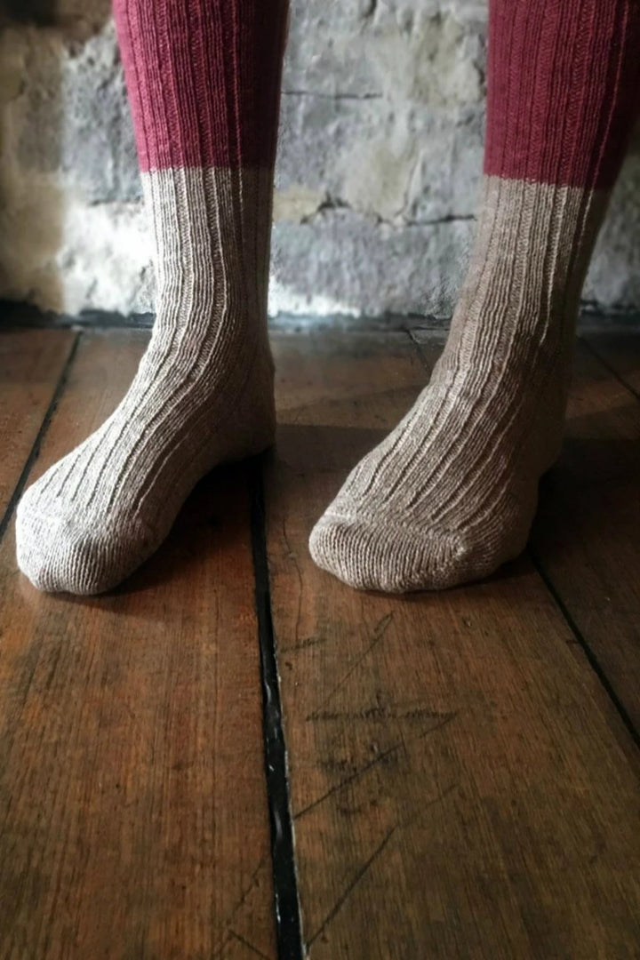 Boston Wool/Cotton Slab Sock - Shop Online At Mookah - mookah.com.au