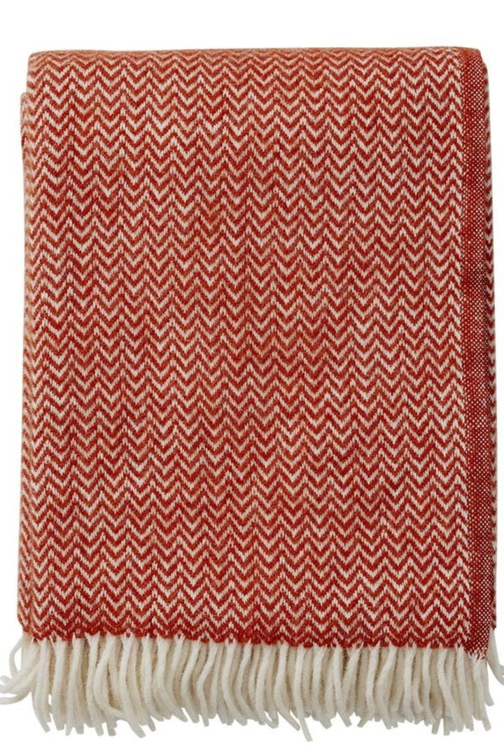 Chevron Blanket - Ruby Red - Shop Online At Mookah - mookah.com.au