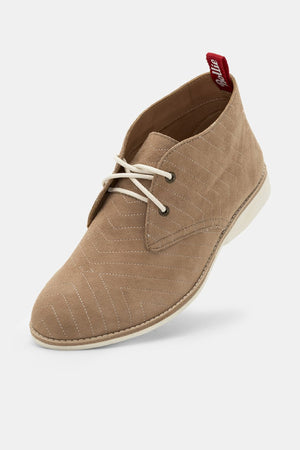 Chukka - Embroidered Taupe - Shop Online At Mookah - mookah.com.au