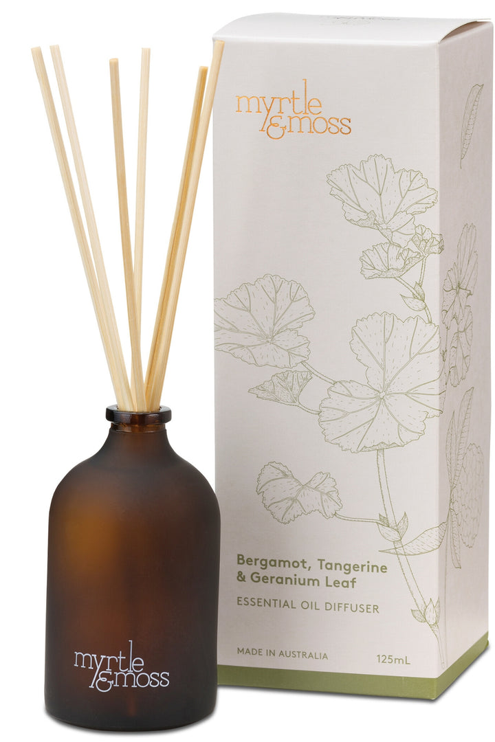 Essential Oil Diffuser - Bergamot - Shop Online At Mookah - mookah.com.au