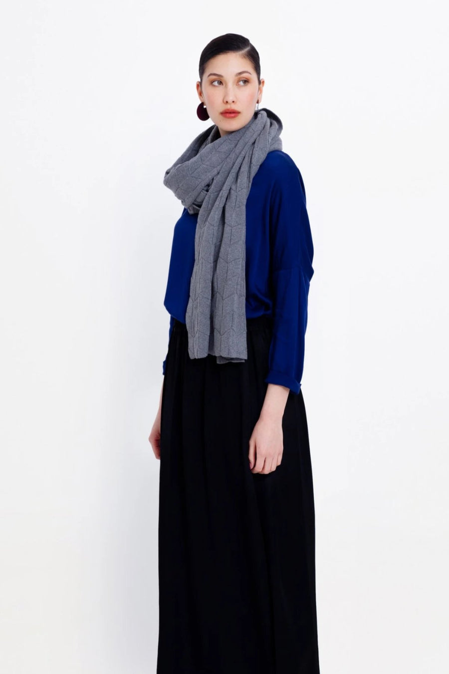 Elk Eura Scarf -Pavement - Shop Online At Mookah - mookah.com.au