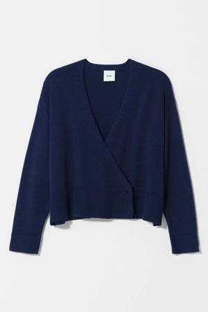 Sel Cardigan - Navy - Shop Online At Mookah - mookah.com.au