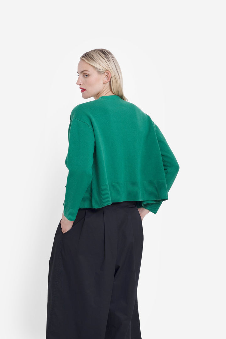 Sel Cardigan - Spinach - Shop Online At Mookah - mookah.com.au