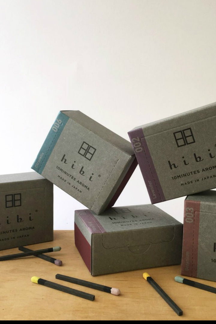 Hibi 10 min Incense Sticks - Large/Yuzu - Shop Online At Mookah - mookah.com.au
