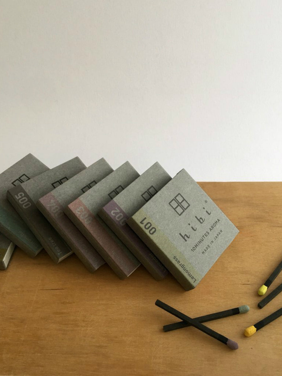 Hibi 10 min Incense Sticks - Small/Citronella - Mookah
