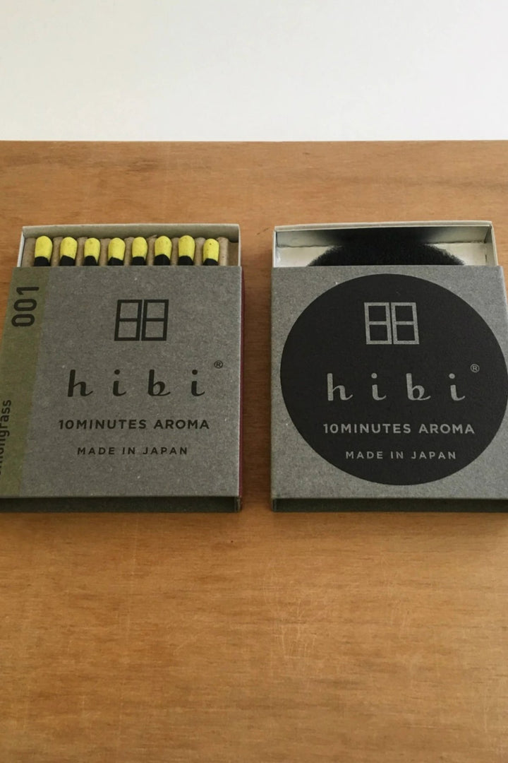 Hibi 10 min Incense Sticks - Small/Lemongrass - Shop Online At Mookah - mookah.com.au
