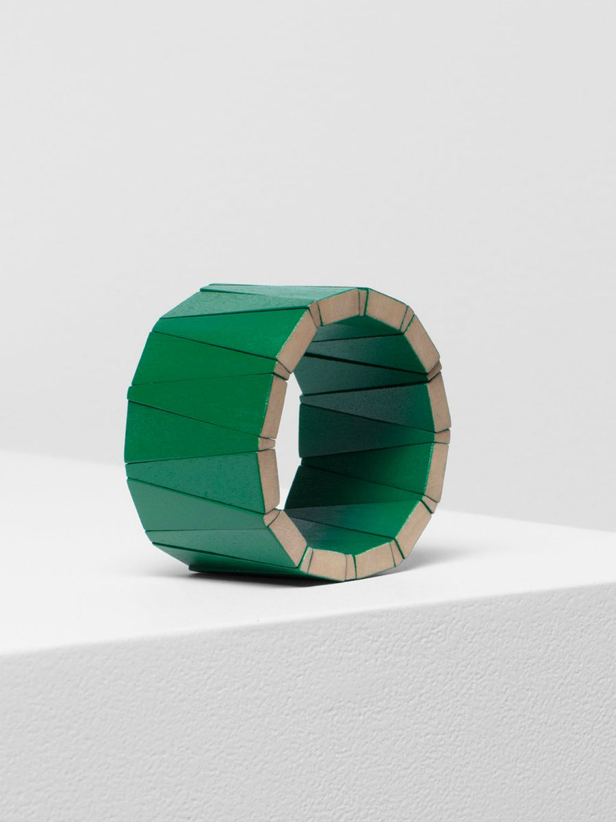Levy Bangle - Bright Green - Mookah