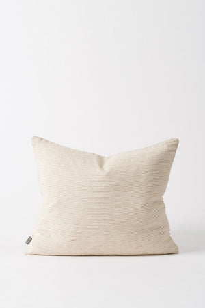 Linea Cushion - Nat/Chestnut - Shop Online At Mookah - mookah.com.au