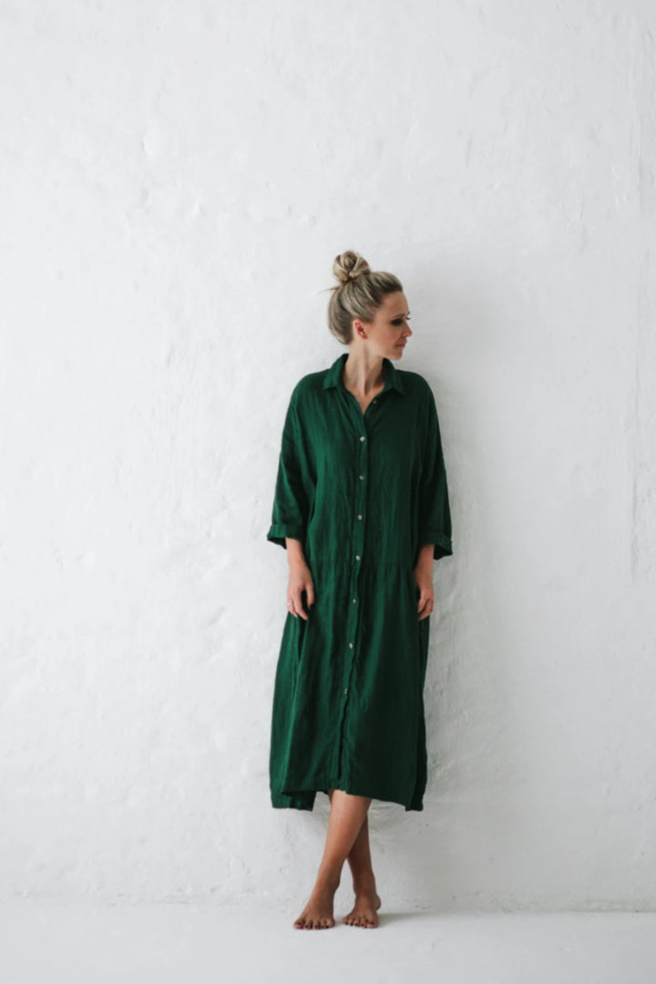 Oversized Dress - Green - Shop Online At Mookah - mookah.com.au