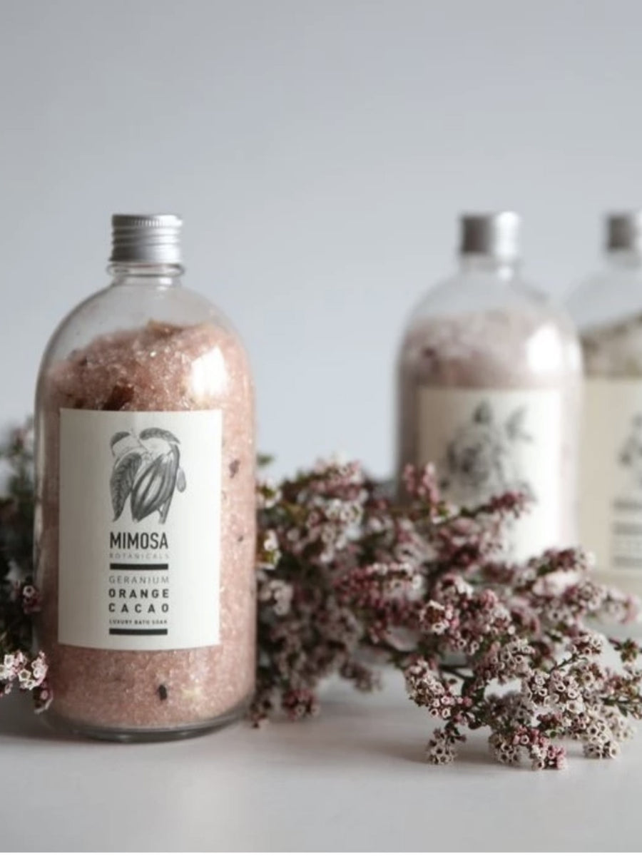 Bath Soak - Pharmacy Jar 500gm - Shop Online At Mookah - mookah.com.au