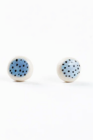 Stud Earrings - Sky Dot