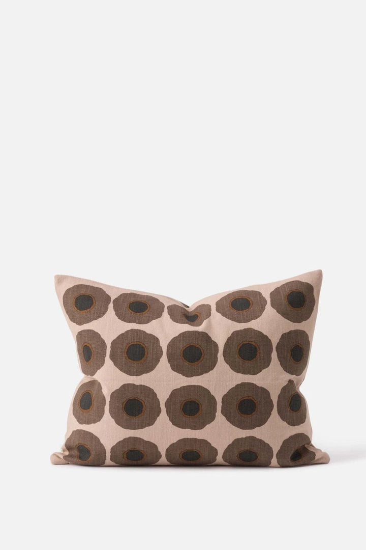 Sunflower Cushion - Latte - Shop Online At Mookah - mookah.com.au
