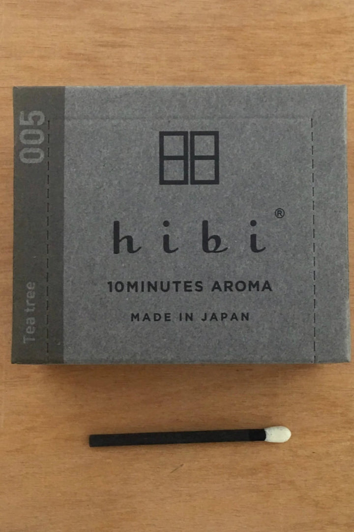 Hibi 10 min Incense Sticks - Small/Tea Tree - Shop Online At Mookah - mookah.com.au