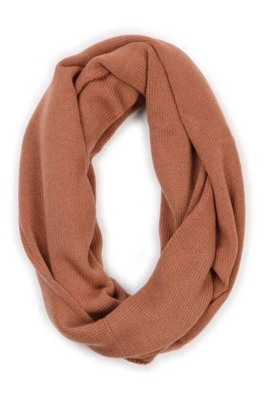 Jasmine Jersey Infinity Scarf in Butterscotch - Shop Online At Mookah - mookah.com.au