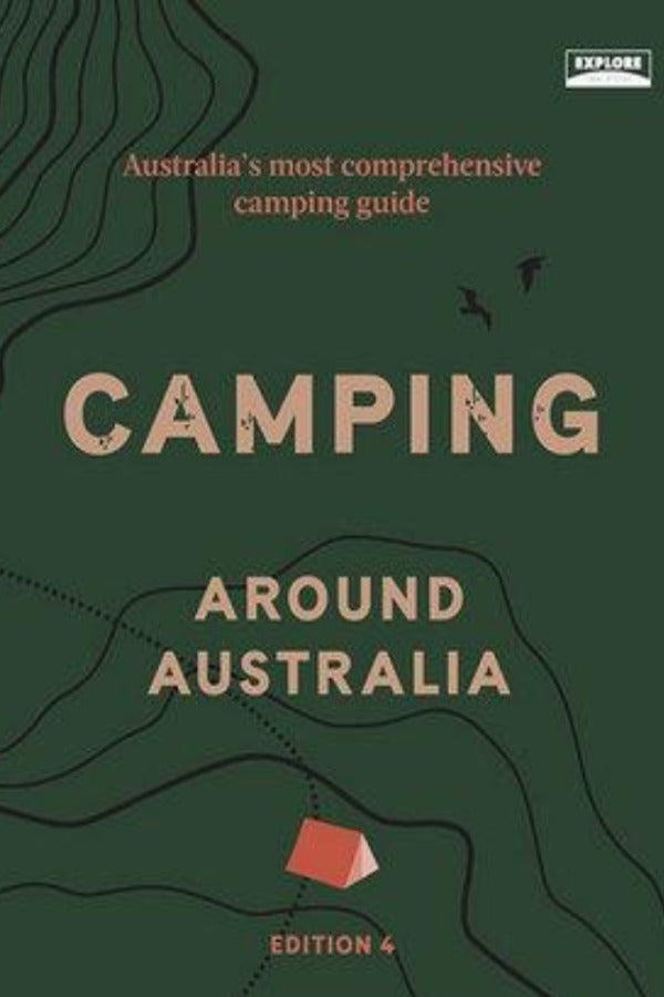 Camping Around Australia 4th Edition - Shop Online At Mookah - mookah.com.au