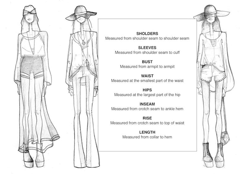 One More Chance - How To Measure Clothing & Accessories