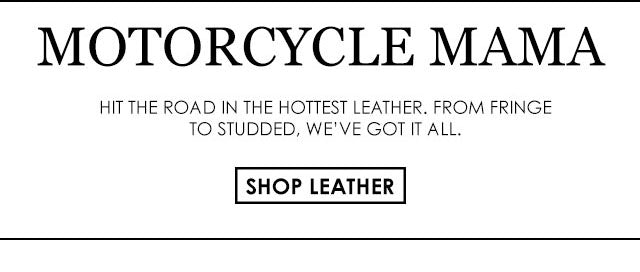 One More Chance Vintage - Strictly Leather Moto Biker Collection