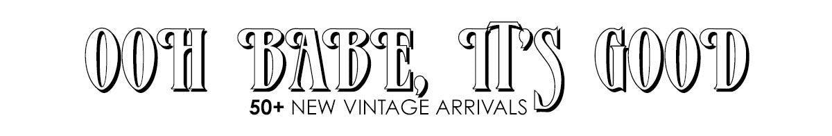 One More Chance Boutique - 50+ New Vintage Arrivals