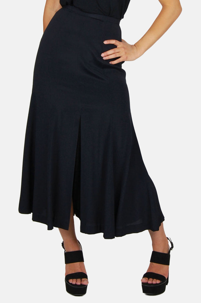 One More Chance Boutique - Vintage Betsey Johnson A Line Slit Skirt