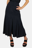 One More Chance Vintage - Vintage Betsey Johnson A Line Slit Skirt