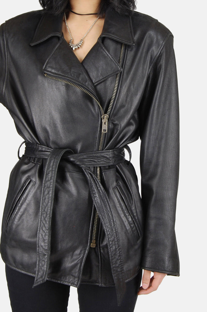 One More Chance Boutique - Vintage Ridin' High Buttery Soft Leather Jacket