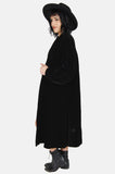 Darkest Hour Crushed Velvet Coat - One More Chance - 1
