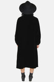 Darkest Hour Crushed Velvet Coat - One More Chance - 5