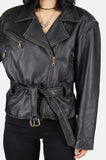 One More Chance Boutique - Vintage The Rocker Buttery Soft Leather Moto Jacket