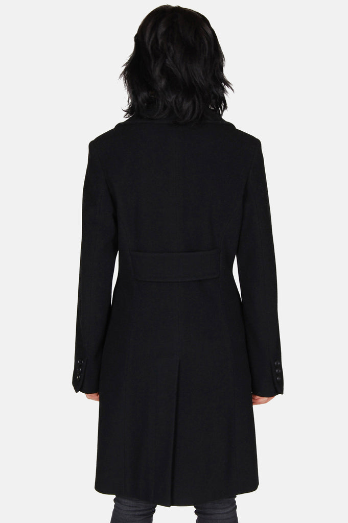 One More Chance Boutique - Vintage Into The Night Wool Coat