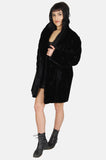One More Chance Vintage - Vintage Astraka London Faux Fur Mink Jacket