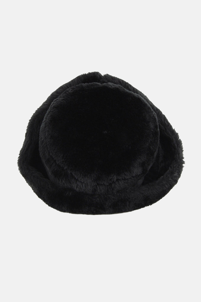 One More Chance Boutique - Vintage Astrakhan Russian Faux Fur Cuffed Hat