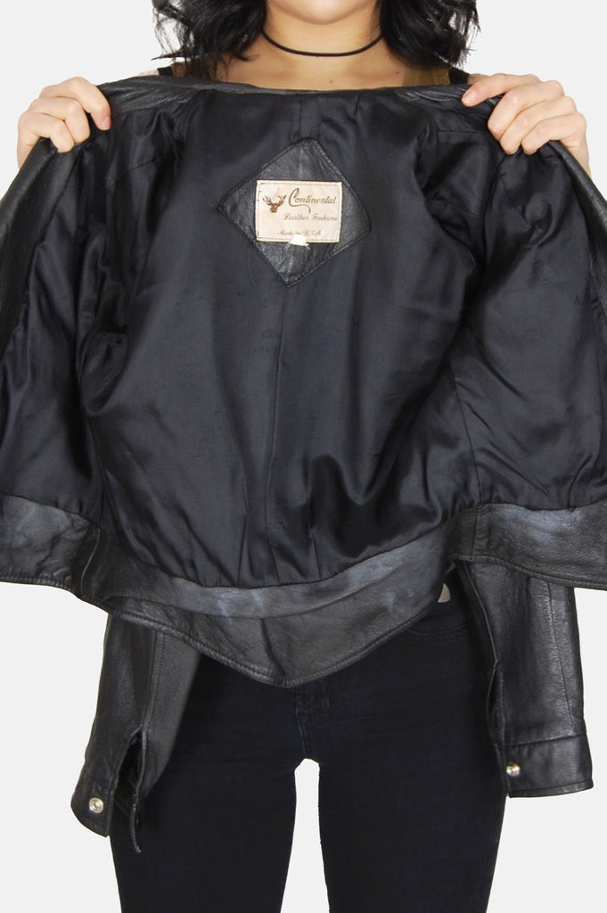 Night Rider Fitted Leather Jacket