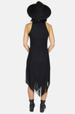 One More Chance Boutique - Vintage You Gotta Move Fringe Midi Dress