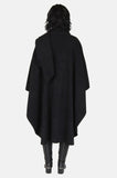 One More Chance Boutique - Vintage Winter Lady Fleece Poncho Cape