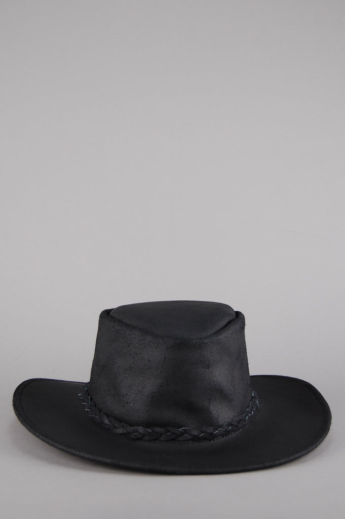 Easy Rider Leather Rancher Hat - Black – One More Chance Vintage 4b7d08b3d1f