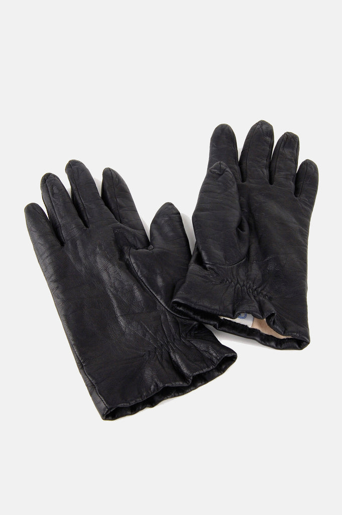 One More Chance Boutique - Vintage Hold On Tight Distressed Leather Gloves