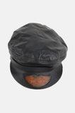 Harley Davidson Leather Captains Hat - One More Chance - 4