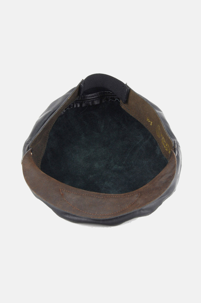 Harley Davidson Leather Captains Hat - One More Chance - 6