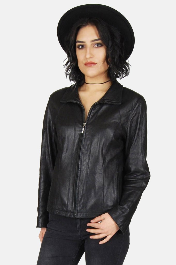 One More Chance Vintage - Vintage Night Rider Buttery Soft Leather Jacket