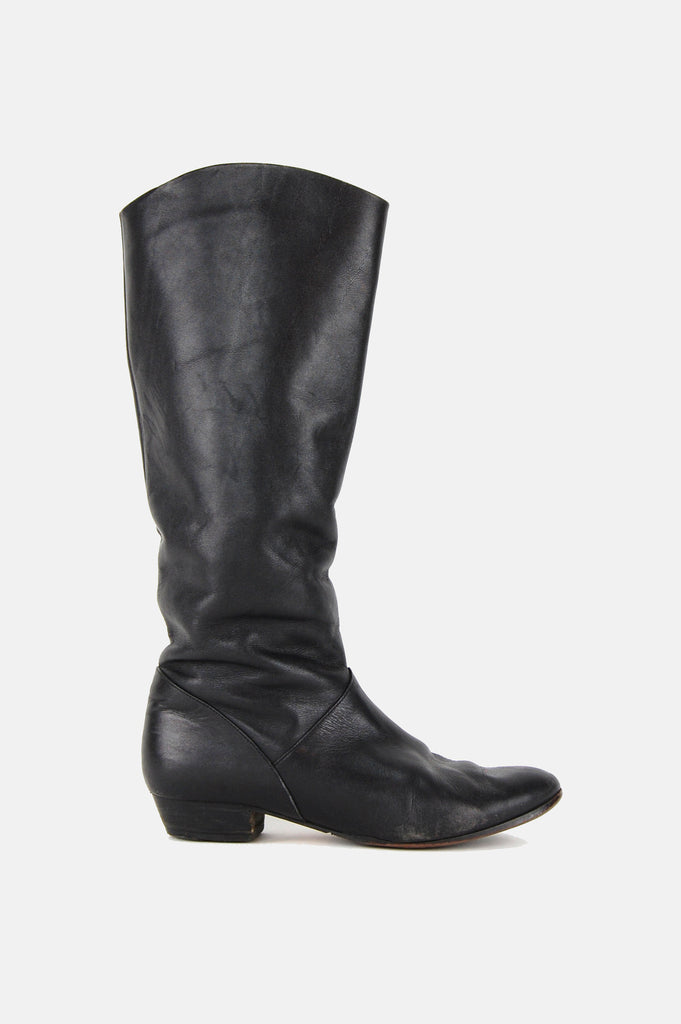 One More Chance Vintage - Vintage Keep On Walkin' Knee High Leather Boots