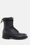 One More Chance Boutique - Vintage Gimme Danger Leather Combat Ankle Boots