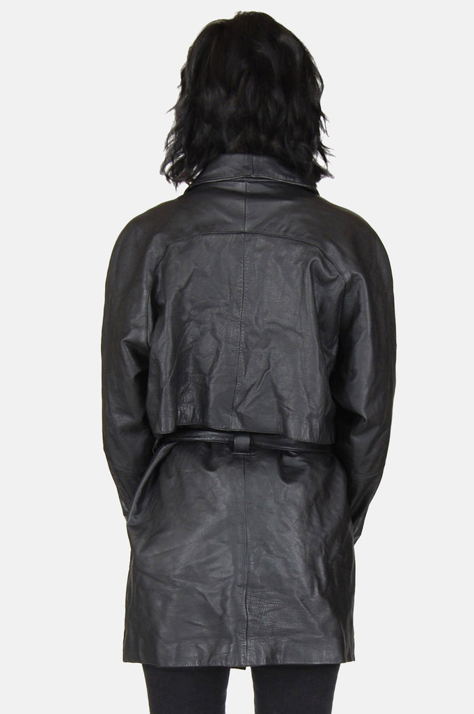 Night Time Is The Right Time Leather Jacket