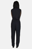 One More Chance Vintage - Vintage Tonight's The Night Asymmetrical Jumpsuit