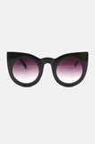 One More Chance Boutique - The Jane Retro Sunglasses in Black