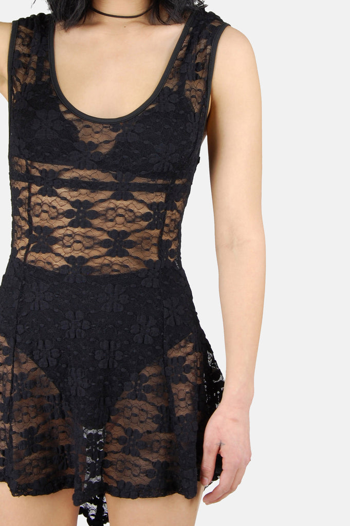 Dance The Night Away Lace Mini Dress - One More Chance - 4