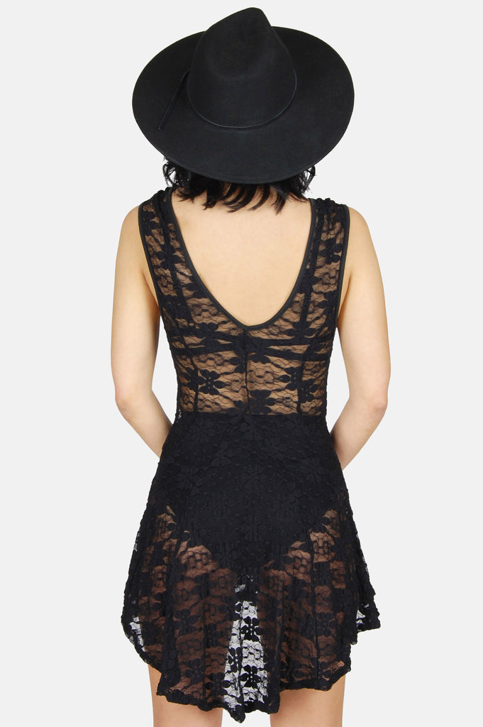 Dance The Night Away Lace Mini Dress - One More Chance - 5