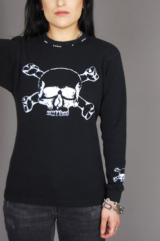 Rebel Rebel Skull Studded Thermal
